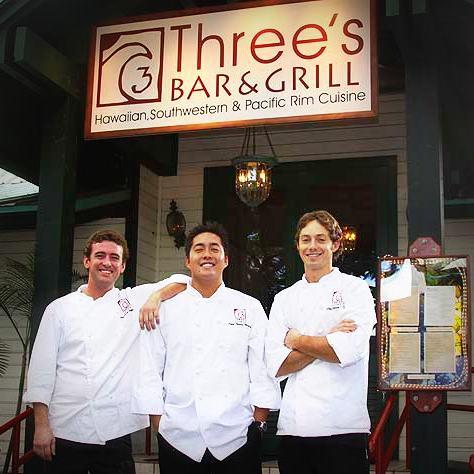 threes bar and grill kihei